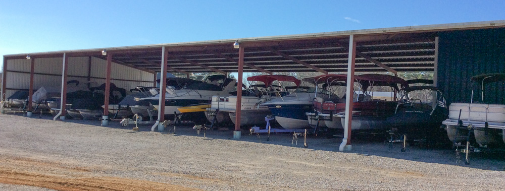 Covered boat and Rv Storage Luka Mississippi